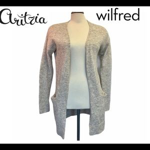 Aritzia Wilfred wool cardigan size extra small